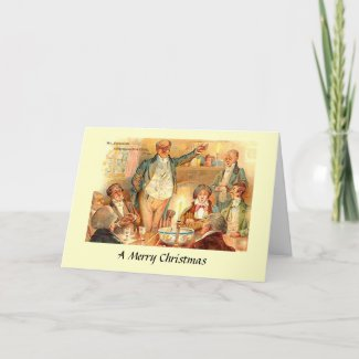 Christmas Card - Pickwick Papers