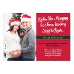 Christmas Card Pregnancy Photo Announcement -Mummy