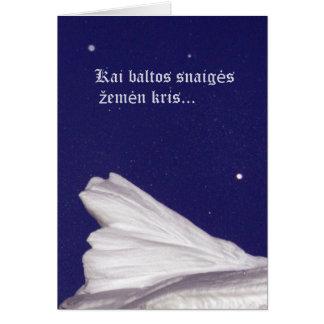 Christmas Card- Rami naktis Card