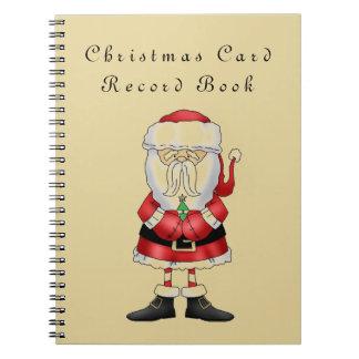 Christmas Card Record Book