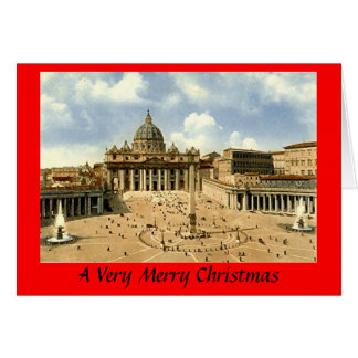 Christmas Card - Rome, Vatican
