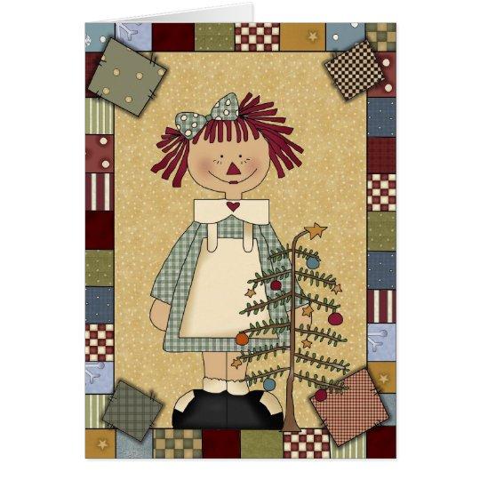Christmas Card: Simple Joys Annie Card