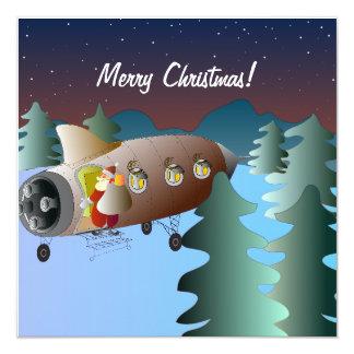 Christmas Card Spacerocket