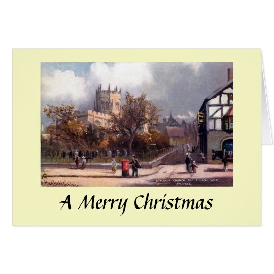 Christmas Card - St Mary's Church, Stafford