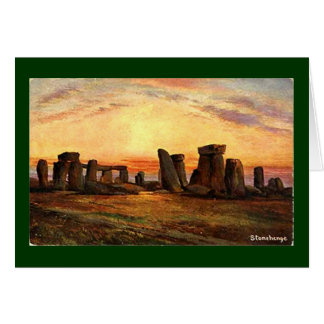 Christmas Card - Stonehenge