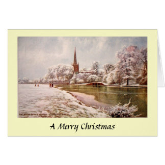 Christmas Card - Stratford-upon-Avon