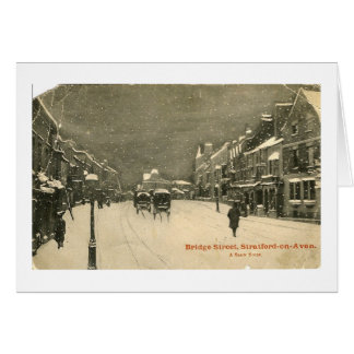 Christmas Card, Stratford-upon-Avon Card