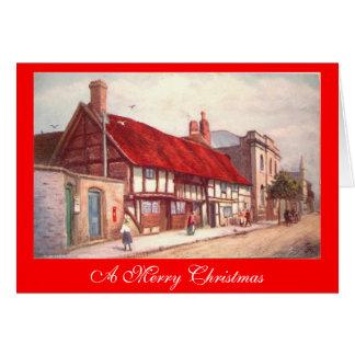 Christmas Card, Stratford-upon-Avon Greeting Card