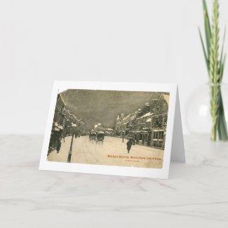 Christmas Card, Stratford-upon-Avon Holiday Card