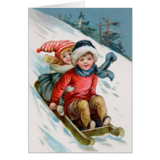 Christmas Card With Matching Postage