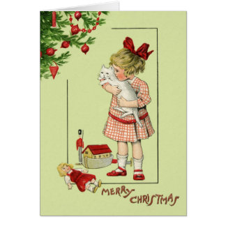 Christmas Card with sweet child an... - Customized