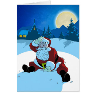 Christmas Card - WTF Santa