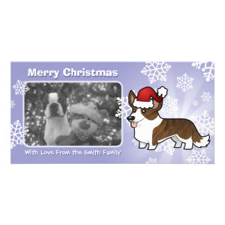 Christmas Cardigan Welsh Corgi Card
