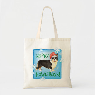 Christmas Cardigan Welsh Corgi Tote Bag