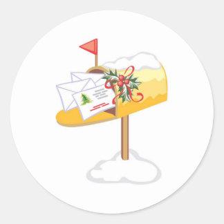 Christmas Cards Mailbox Sticker
