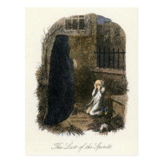 Christmas Carol - Ghost of Christmas Yet to Come Postcard