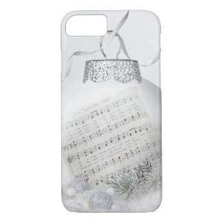 Christmas carol in snow iPhone 8/7 case