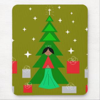 Christmas Carol Mouse Pad