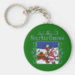 Christmas Carol Series Keychains Key Chains