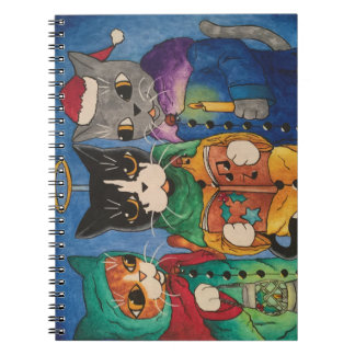 Christmas Carol Singers Notebook