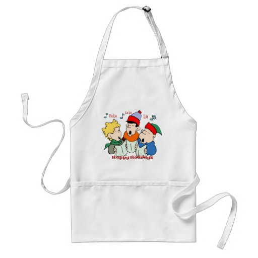 Christmas Carolers Apron