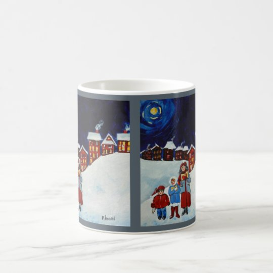 Christmas Carolers Christmas Coffee Mug