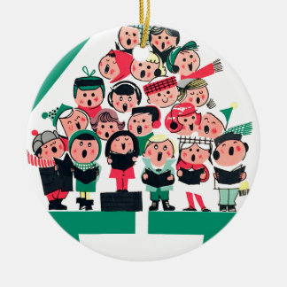 Christmas Carolers Christmas Ornament