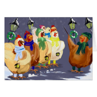 Chicken Christmas Cards & Invitations | Zazzle.co.uk