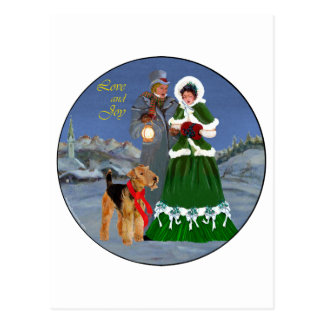 Christmas Carols Postcards