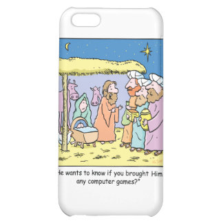 Christmas Cartoon Three Wise Kings Computer Games iPhone 5C Case