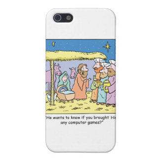 Christmas Cartoon Three Wise Kings Computer Games iPhone 5 Cases