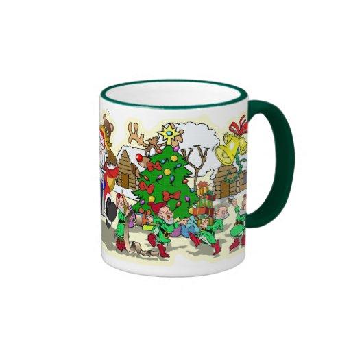 CHRISTMAS CARTOONS / BUBBA'S TOONE TEES MUG