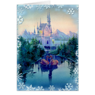 CHRISTMAS CASTLE by SHARON SHARPE Note Card