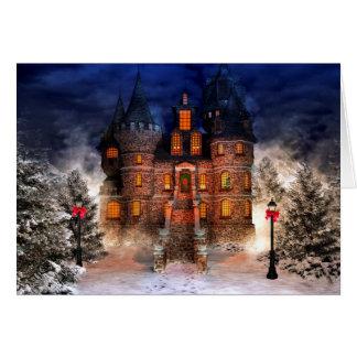 Christmas Castle Card