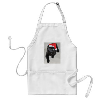Christmas cat #5 standard apron