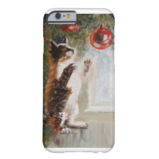 Christmas cat barely there iPhone 6 case