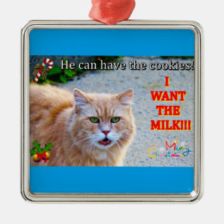 Christmas Cat Christmas Ornament