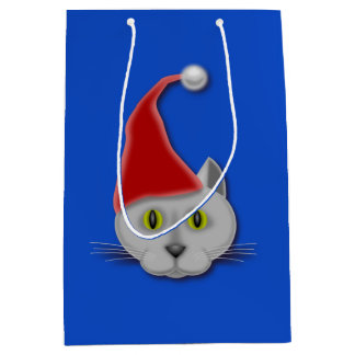 Christmas Cat Gift Bag
