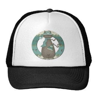 Christmas Cat Mesh Hats