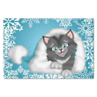 Christmas Cat Holiday tissue paper