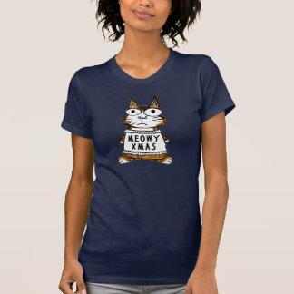 Christmas Cat -- Meowy Xmas T-shirts