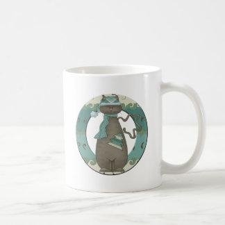 Christmas Cat Coffee Mugs