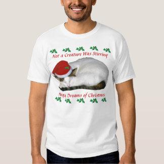 Christmas Cat Nap T-Shirt