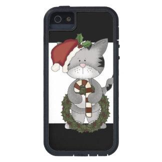 Christmas Cat Santa Claus iPhone 5 Cover