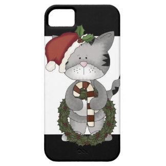 Christmas Cat Santa Claus iPhone 5 Covers