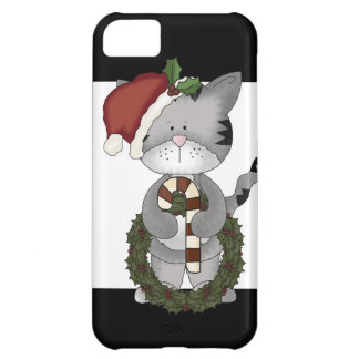 Christmas Cat Santa Claus iPhone 5C Case
