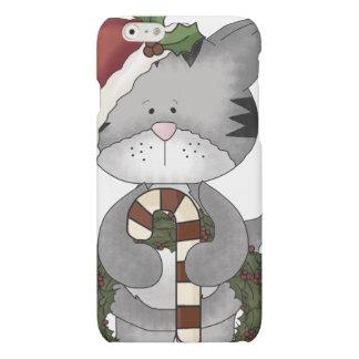 Christmas Cat Santa Claus iPhone 6 Plus Case