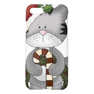 Christmas Cat Santa Claus iPhone 7 Case