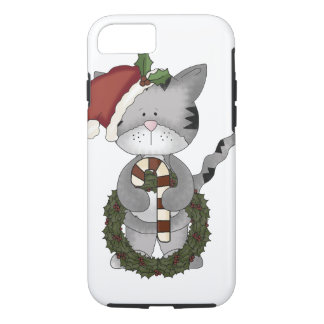 Christmas Cat Santa iPhone 8/7 Case