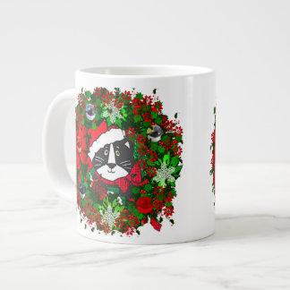 Christmas Cat Extra Large Mug